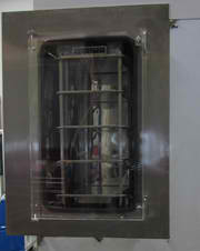 laboratory scale freeze dryer, Isolation Bezel