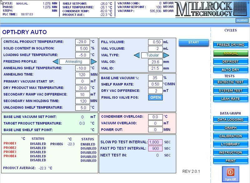 Auto-Dry, optidry-autodry-screen