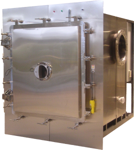 Production Freeze dryer without refrigeration skids