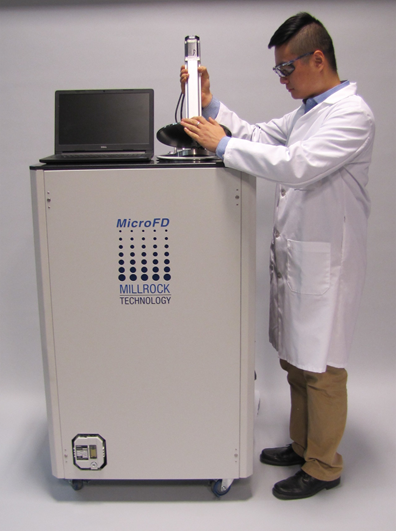 MicroFD protocol development freeze dryer for fewer than 37 vials