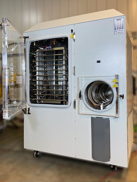 Standard unit with stoppering shelves for bulk